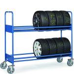 Chariots à pneus